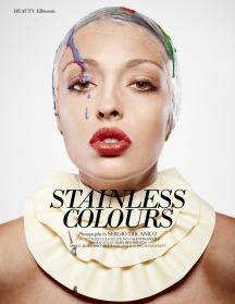 Beauty Editorial on Ellements Magazine