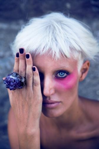 Commercial Makeup work for Voodoo Jewels