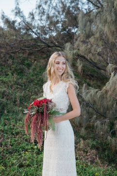 Sunshine coast beach wedding